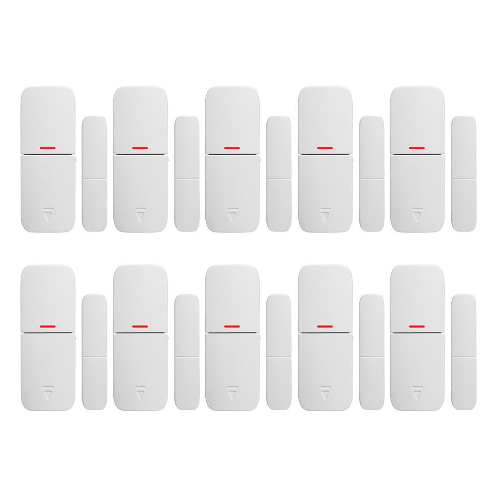 купить Free shipping 10PCS/LOT KERUI Intelligent Wireless LD02 Door Gap Window Magnetic Sensor Detector for alarm system по цене 3333.79 рублей