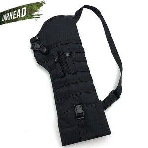 Image 3 - חיצוני טקטי רובה Shotgun ניילון שקיות צבאי ארוך תקיפת אקדח סכין תיק רב פונקציה נייד Gunstock תיק