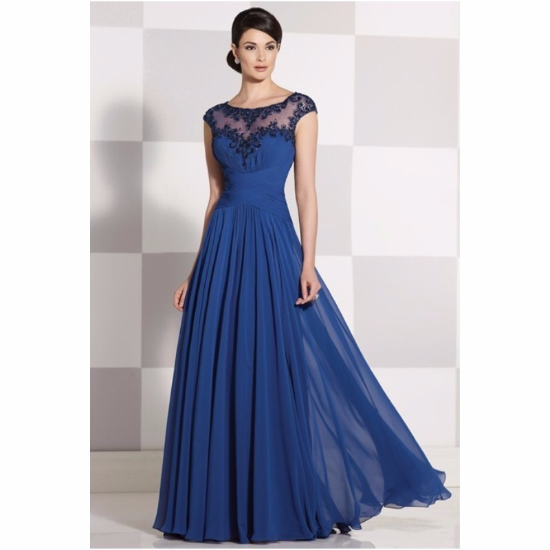 2016-Mother-Of-The-Bride-Dresses-A-line-Cap-Sleeves-Royal-Blue-See-Through-Long-Mother_conew1