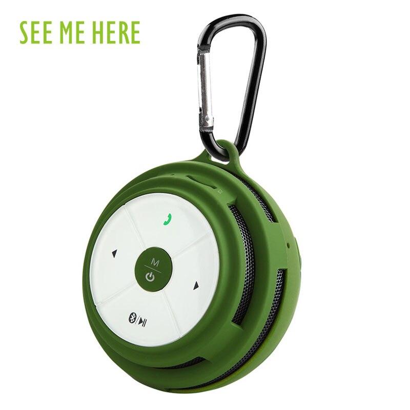Мне здесь BV200 Беспроводной Bluetooth Динамик открытый Портативный мини Динамик сабвуфер