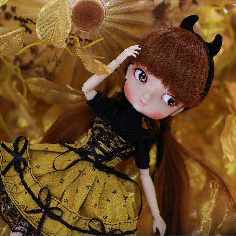 35 cm 1/6 Bjd Sd fille poupée jouets haute qualité Joints poupées bricolage fille poupées jouets cadeaux d'anniversaire pour enfant enfants