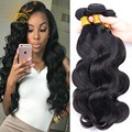 4 Bundles Brazilian Body Wave Vip Beauty Brazilian Virgin Hair Brizilian Body Wavy Human Hair Weaves Aliexpress Hair Extensions