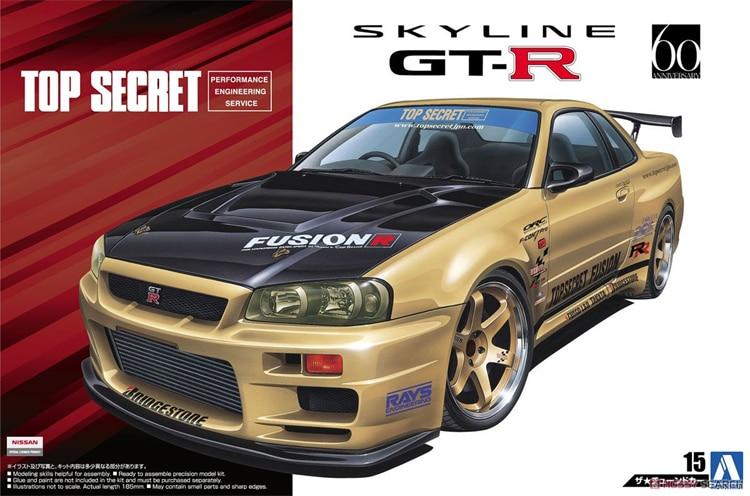 1/24 Top Secret BNR34 Skyline GT-R` 02 05304