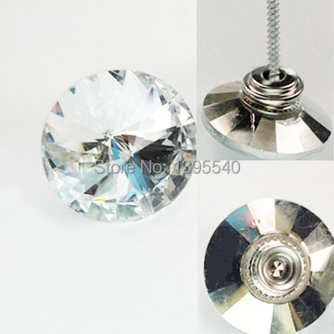 New 30mm Clear Tacks Crystal Glass Nails Sofa Industry Decoration ...