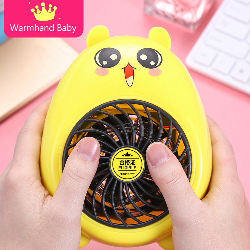 400W Mini Instant Electric Heater Home Office Space Heating Warm Portable Fan
