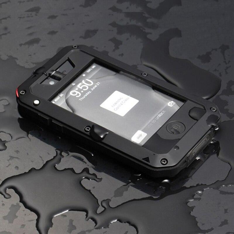 Prime Protection Pour Apple iPhone 4 4S Extrême Sacoche Antichoc Étanche Militaire Lourd Dur Cas de Téléphone de Couverture Arrière