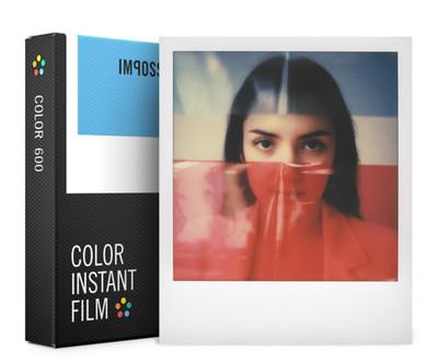 Prix pour 100% D'origine Film Couleur Impossible Project Polaroid 600 636 2000 Type Caméra Instantanée Cadres Édition avec Cadeau Gratuit