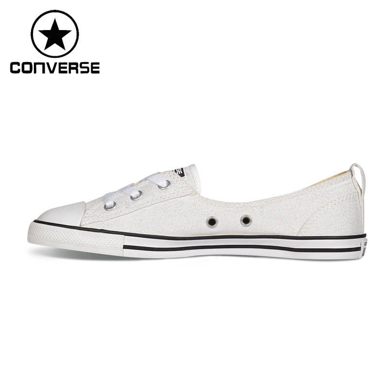 ФОТО Original New Arrival  Converse ALL STAR Women's Drawstring Skateboarding Shoes Canvas Sneakers