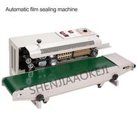 Aluminium Folie Tasche Rand Sealer Lebensmittel Verpackung Maschine FR 900 Kontinuierliche Automatische Film Abdichtung Maschine 220 V/110 V 850W 1PC|Maschinenzentrale|   -