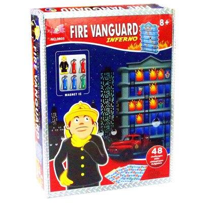 Petit oeuf de caille feu d'urgence pioneer jouet 3D stéréo logique jeu jouet éducatif intelligence labyrinthe feu avant-garde