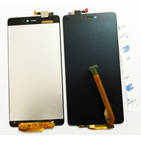 Black Best Working LCD Touch Screen Digitizer Assembly For Xiaomi Mi4c Mi 4C Mobile Phone Display