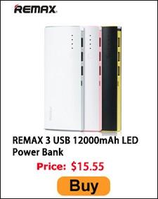 REMAX 3 USB 12000mAh LED
