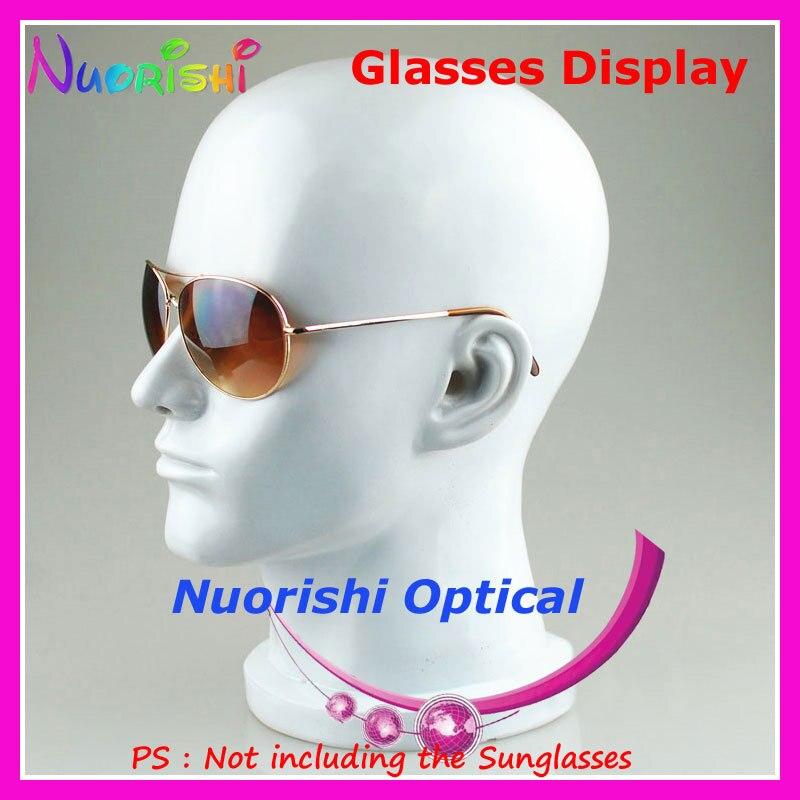 8 цветов голова модель пресс формы дисплей подставки для демонстрации очков Солнцезащитные очки, очки крышка Подставка для наушников CK103 Бесплатная доставка - 5