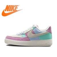 Оригинальные аутентичные Nike Air Force 1 One Low Help AF1 для мужчин's обувь для скейтбординга мужской спорт на открытом воздухе кроссовки легкий вес