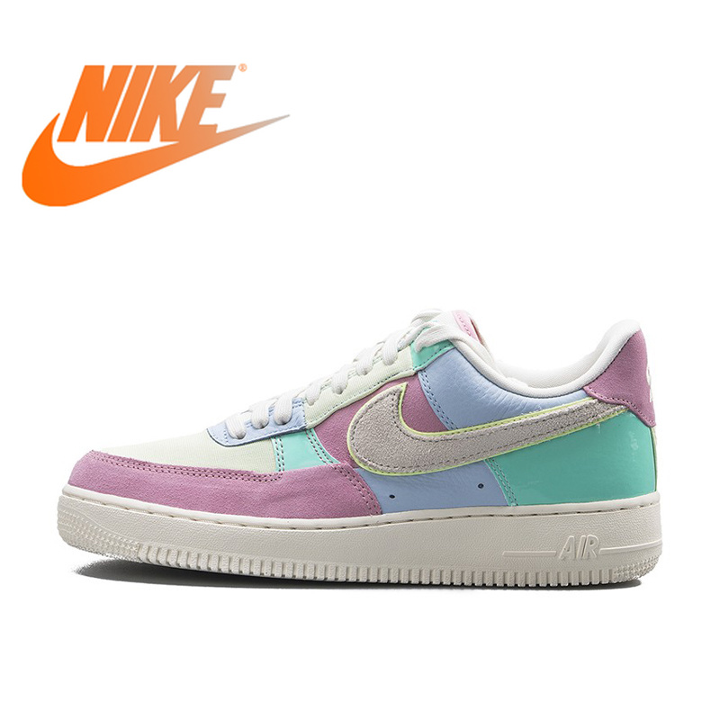 Original Authentic Nike Air Force 1 One Low Help AF1 Men's Skateboarding Shoes Male Sport Outdoor Sneaker Light Weight Shoes