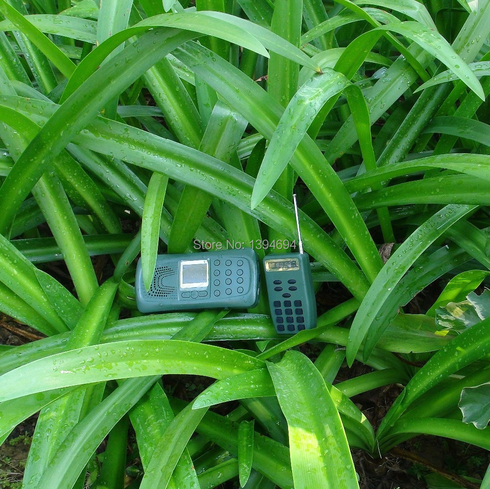 ФОТО remote control mp3 download sound player with 10w bird sound speaker hunting caller
