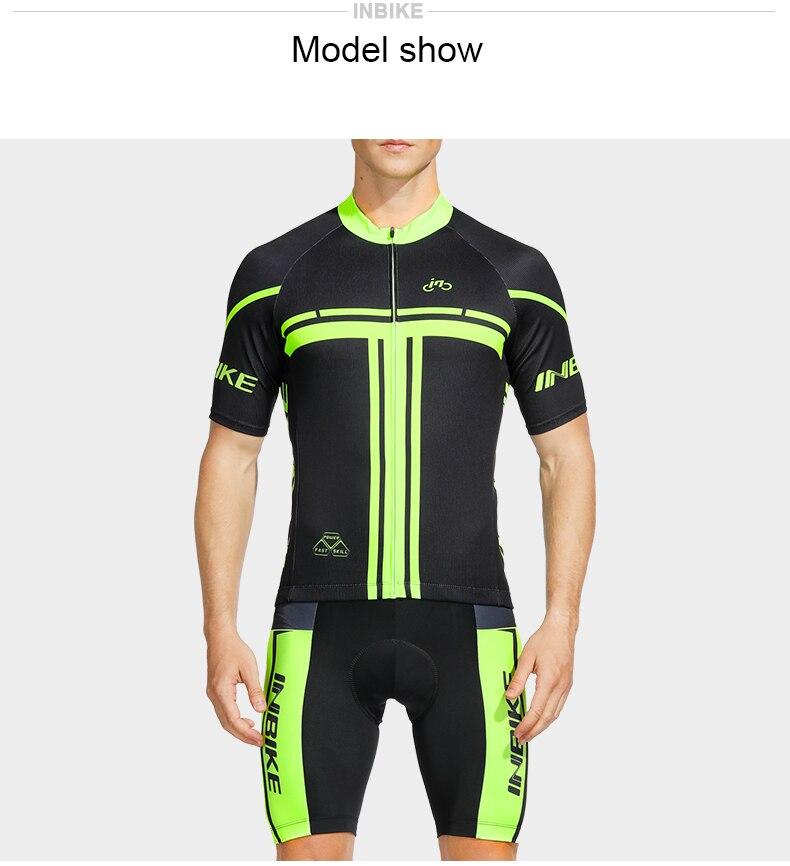Ινβικε καλοκαιρινή ανδρική στολή ποδηλασίας msow
