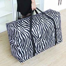 Simple Durable Luggage Bag Large Capacity Travel Duffel Bags Women Men Thicken Oxford Waterproof Packing Cubes S L XL Size
