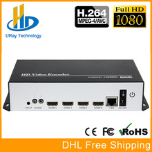 URay MPEG4 H.264 HDMI + CVBS / AV / RCA Naar IP Video Encoder HD SD Video Encoder WiFi Streaming Encoder Draadloos