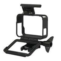 Для GoPro аксессуары GoPro Hero 7 6 5 защитная рамка чехол Корпус для видеокамеры чехол для GoPro Hero5 6 черная Экшн-камера 2