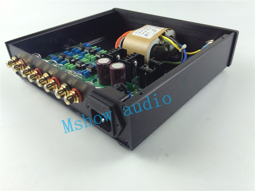 Mshow audio store Linkwitz-Riley Crossover 3-Way Electronic Frequency Divider HIFI Preamp audio