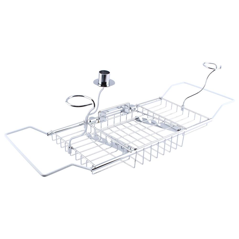 1Pcs Bathroom Bath Shower Tub Bathtub Caddy Storage