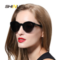 Fashion Ladies Sunglasses Women Brand Designer Sun Glasses TR90 Summer Eyewear Retro Vintage Round Glasses Oculos De Sol SH71018