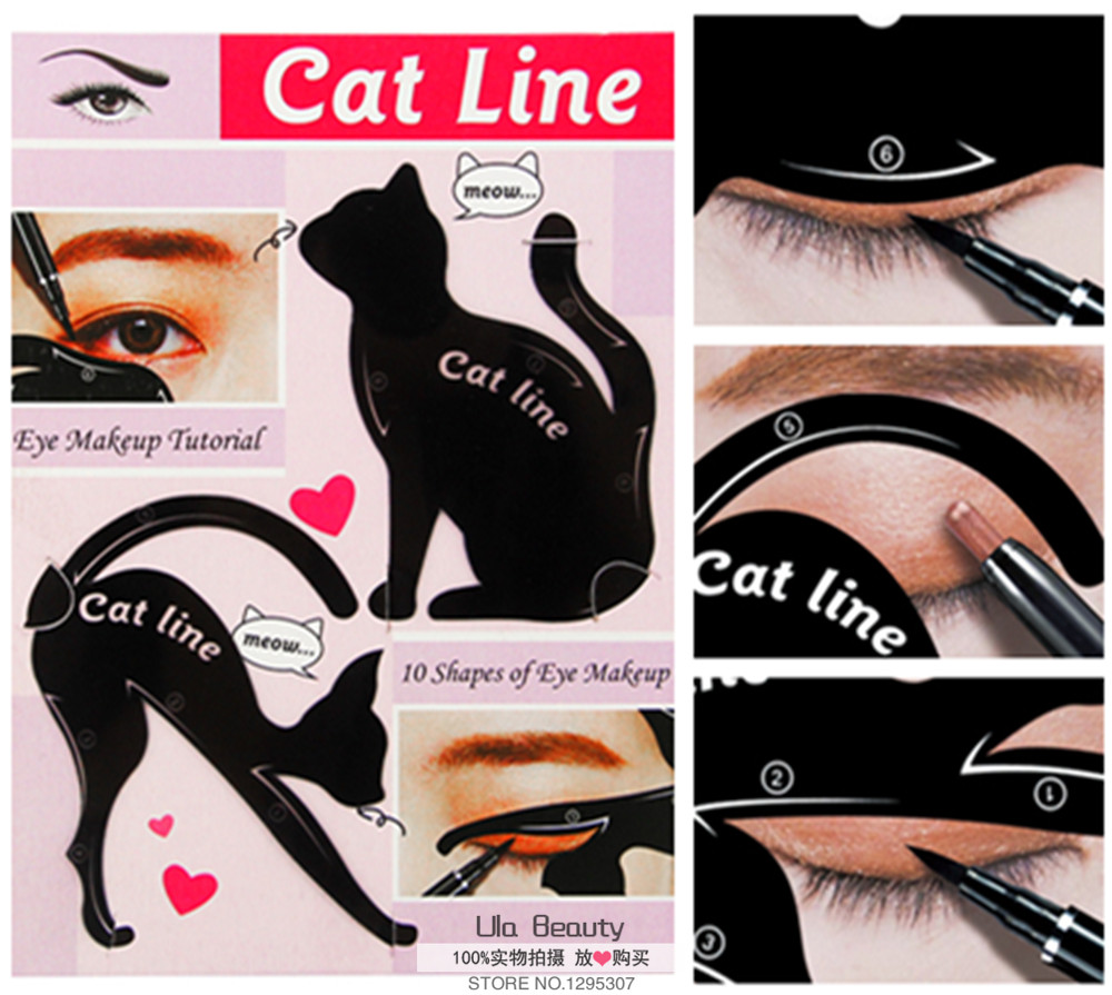 4pcs eye liner makeup cat eye eyeliner stencil new design eyeliner 4pcs eye liner makeup cat eye eyeliner stencil new design eyeliner stencil models eyebrow eyes liner template shaper tool in eyebrow stencils from beauty baditri Image collections