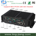 waterproof IP65  industrial PC with 1*VGA &SIM socket (Lbox-2550)