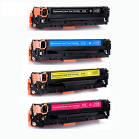 For HP CF210A CF211A CF212A CF213A 131A Color Toner Cartridge Compatible For HP LaserJet Pro 200 color M251nw M276n M276nw|Toner Cartridges| |  -