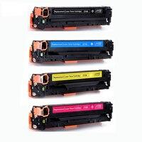Para hp cf210a cf211a cf212a cf213a 131a cartucho de toner de cor compatível para hp laserjet pro 200 cor m251nw m276n m276nw