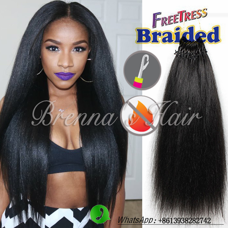 18inch Dominican Blowout Straight hair natural black pre braided crochet hair pre loop Crochet Braids Hair perfect Human feeling