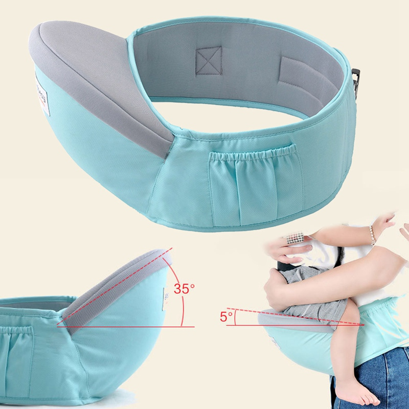Baby Carrier Equipped Pocket-Backpacks Hip-Seat Newborn-Waist Infant Children For