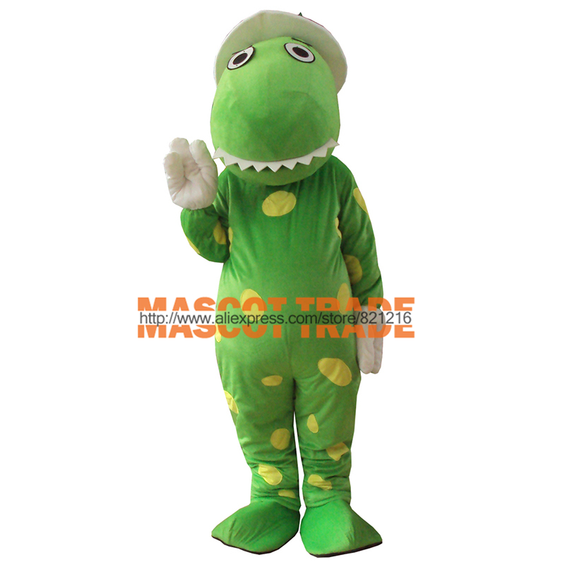 Dorothy The Dinosaur Mascot Costume Terms Head Material Free shipping