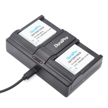 DuraPro 2PCS NB-6L NB-6LH Battery + USB Twin Channel Charger for Canon Powershot  ELPH 500 HS SD770 IS SD980 SD1200 SD1300