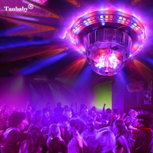 Tanbaby Voice Control LED Laser Pointer Disco Stage Light Laser Projector Stage Lighting Effect Lamp for DJ Party Club Wedding