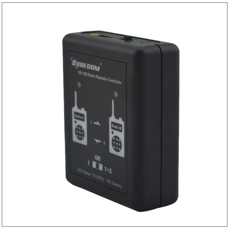 Surecom SR629 SR-629 Duplex Repeater Controller With 2pcs Radio Connect Cables (Cable For Options) For Walkie Talkie
