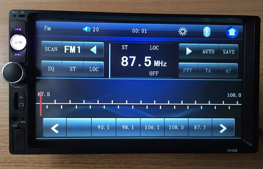 2 Din Full Touch Car PC Tablet Double 2din Audio 7'' Car