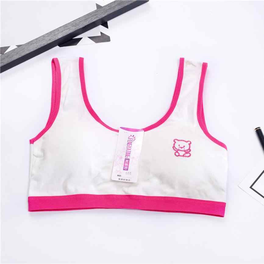 Kids Bra New Lovely Girls Printing Underwear Bra Vest Children Underclothes Sport Undies18 15