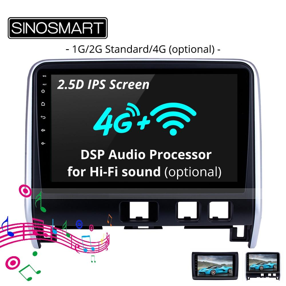 medium resolution of sinosmart 2 5d ips 1g 2g car radio gps navigation player for nissan nv350