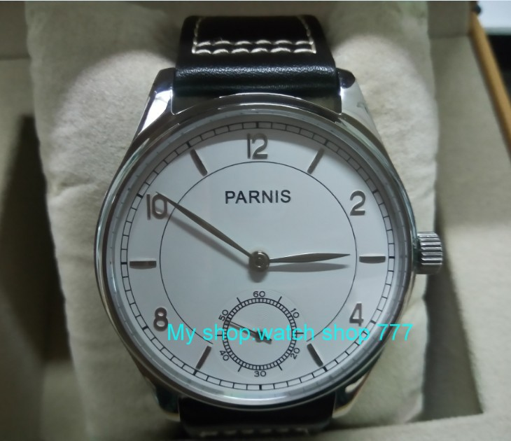 44mm PARNIS Pilot Asian ST3621/6498 Mechanical Hand Wind movement Mechanical watches white dial men's watches wholesale DF79a 44mm parnis white dial asian 6498 3621 mechanical hand wind movement men s watch mechanical watches rnm9