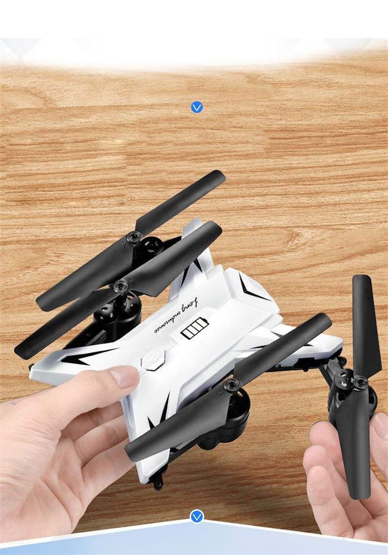 RC Helicopter Drone with Camera HD 1080P WIFI FPV Selfie Drone Professional Foldable Quadcopter  Minutes Battery Life 2
