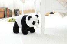 small cute font b plush b font panda toy new lovely simulation panda doll about 30x18cm