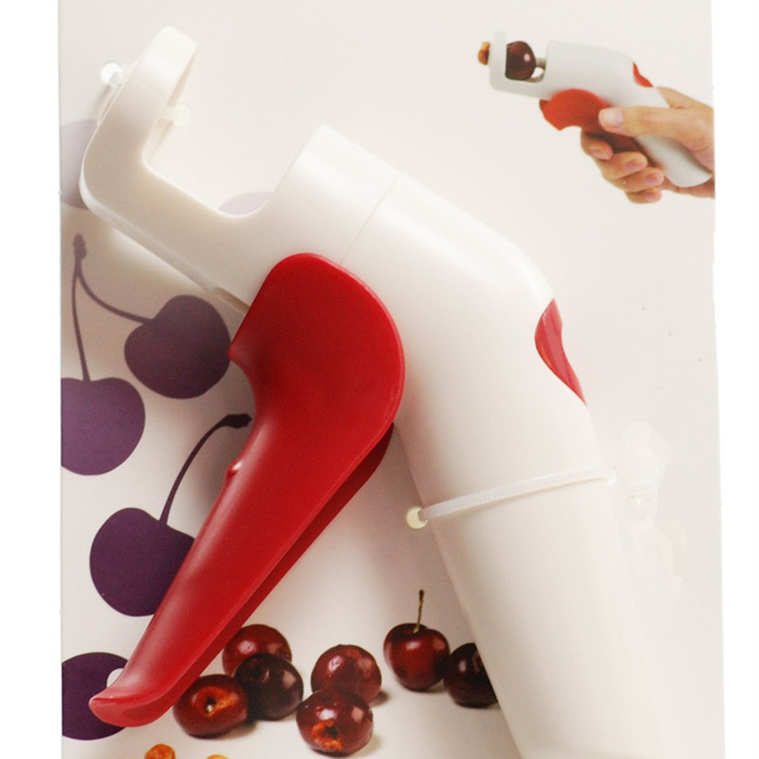 Economic  Cherries Creative Kitchen Gadgets Tools Pitter Cherry Seed Fast Enucle