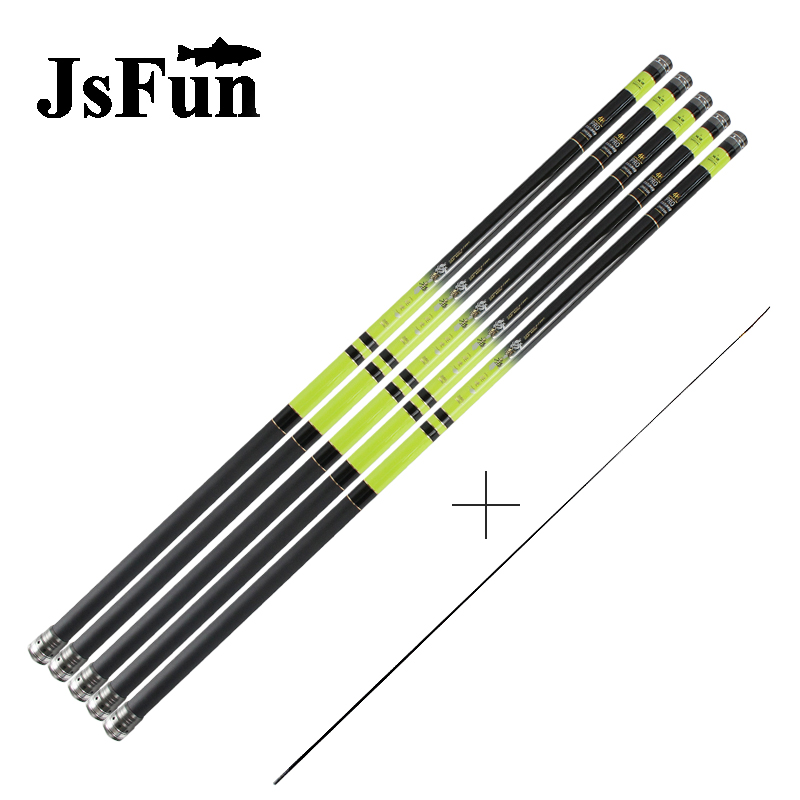 High Carbon 8m 9m 10m 11m 12m 13m Power Hand Pole Fishing Rod Ultra Hard Super