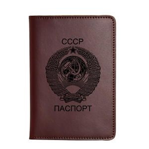 ChaoRan Travel Accessories Passport Cover Holders Leather