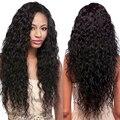 7А Перуанский Девы Волос Естественная Волна 3 Пучки Перуанский Вьющиеся Волосы 4-28 дюймов Перуанский Волна Воды Девы Волос Переплетения человеческих Волос