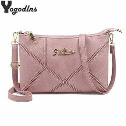 Retro bolsas femininas ombro crossbody sacos de senhoras couro artificial pequeno 4 cores listra mensageiro sacos envelope