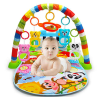 Baby Play Mat Rack Piano Music Blanket Bed Bell Pay Gym Toy Floor Crawl Baby Carpet Infant Kids Educational Toys Gifts 688 32