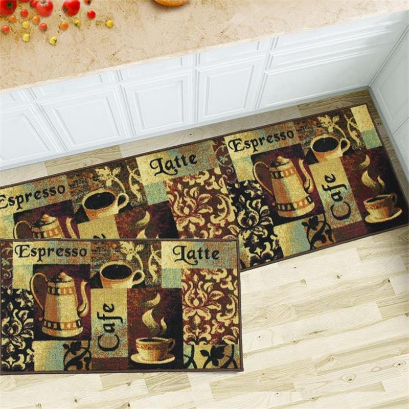 Aliexpress.com : Buy 50X80+50X150CM Coffee Kitchen Mat Home  Entrance/Hallway Doormat Sliding Door/Balcony Area Rug Wardrobe Floor Mat  Bathroom Carpet From ...